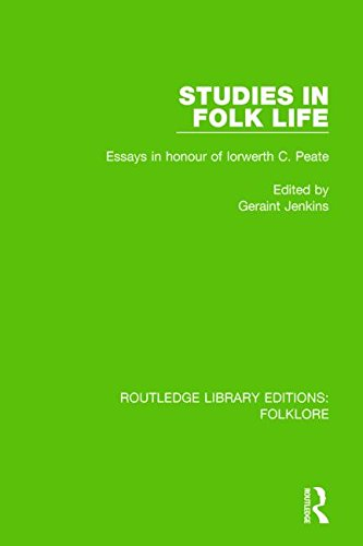 9781138843936: Studies in Folk Life (RLE Folklore): Essays in Honour of Iorwerth C. Peate (Routledge Library Editions: Folklore) (Volume 15)