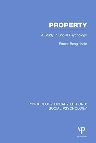 9781138844445: Property: A Study in Social Psychology (Psychology Library Editions: Social Psychology) (Volume 2)