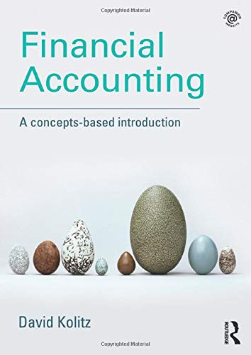 9781138844971: Financial Accounting: A Concepts-Based Introduction