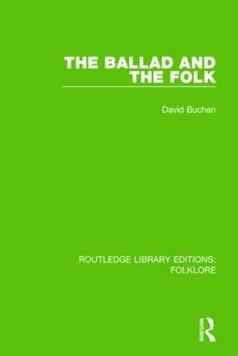 9781138845169: The Ballad and the Folk Pbdirect