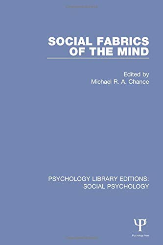 9781138845329: Social Fabrics of the Mind