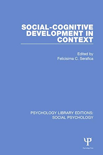 9781138846081: Psychology Library Editions: Social Psychology: Social-Cognitive Development in Context (Volume 27)