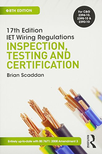 Fine 9781138848863 17Th Ed Iet Wiring Regulations Inspection Testing Wiring Cloud Hisonuggs Outletorg