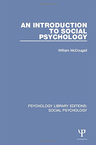 9781138851238: An Introduction to Social Psychology (Psychology Library Editions: Social Psychology) (Volume 15)