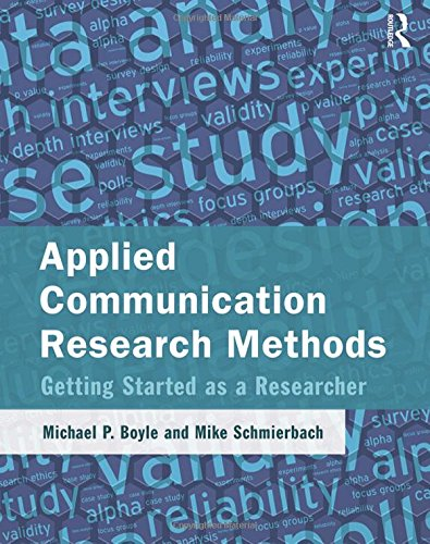 9781138853607: Applied Communication Research Methods: Getting Started as a Researcher