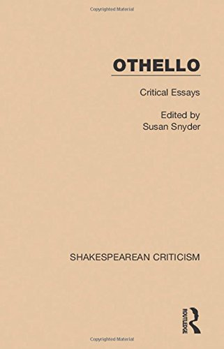 othello new critical essays by philip c. kolin Othello is finally stricken with the sight of his dead wifedeveloping the theme at the end of the play deceived by appearances the theme of appearance and reality is developed even at the height of the hero's crisis through the language he uses.