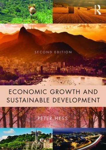 9781138853935: Economic Growth and Sustainable Development