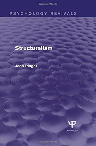 9781138853980: Structuralism (Psychology Revivals)
