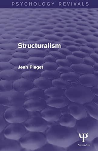 9781138854482: Structuralism