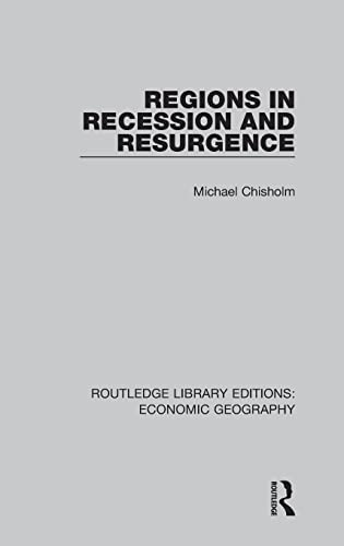 9781138855281: Regions in Recession and Resurgence (Routledge Library Editions: Economic Geography)