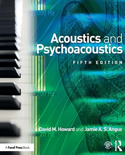 9781138859876: Acoustics and Psychoacoustics