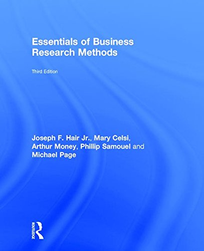9781138859920: The Essentials of Business Research Methods