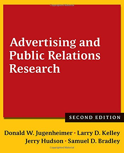 9781138860285: Advertising and Public Relations Research