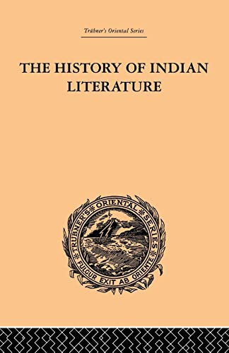 9781138862173: The History of Indian Literature