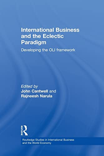 9781138864030: International Business and the Eclectic Paradigm