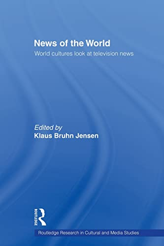 9781138864597: News of the World: World Cultures Look at Television News
