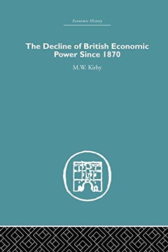 9781138865310: The Decline of British Economic Power Since 1870