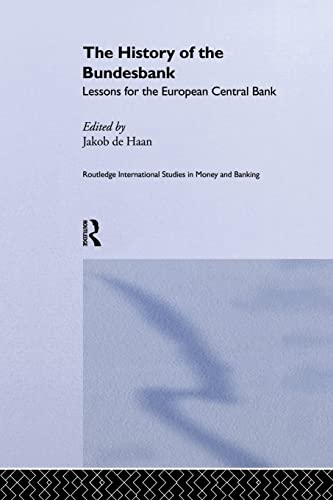 9781138866270: The History of the Bundesbank: Lessons for the European Central Bank
