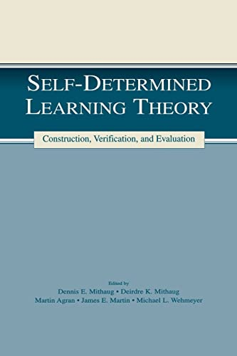 9781138866805: Self-determined Learning Theory: Construction, Verification, and Evaluation