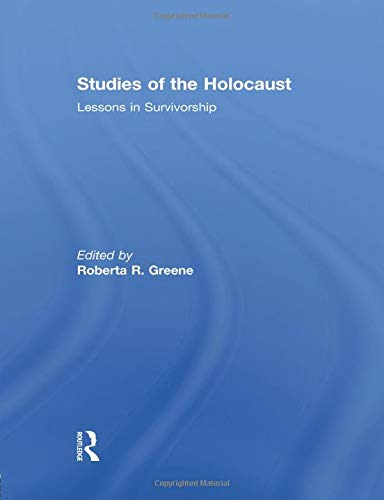 9781138867888: Studies of the Holocaust: Lessons in Survivorship