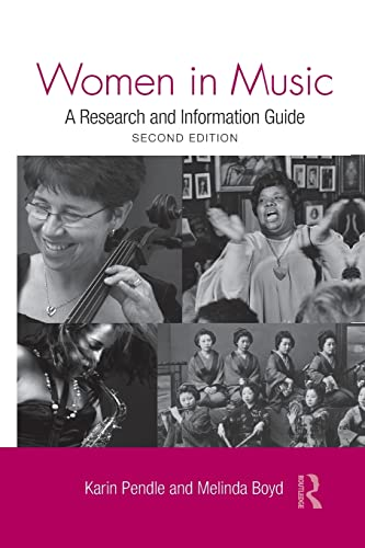 Women in Music: A Research and Information Guide: Pendle, Karin