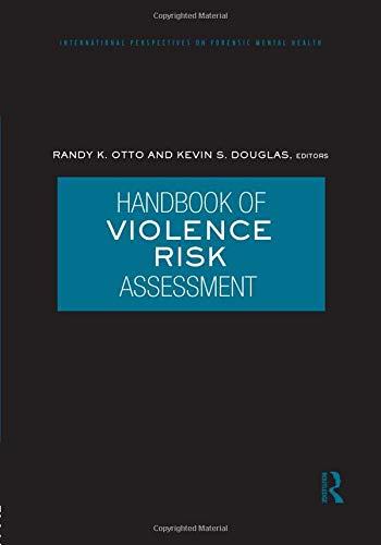 9781138872882: Handbook of Violence Risk Assessment (International Perspectives on Forensic Mental Health)