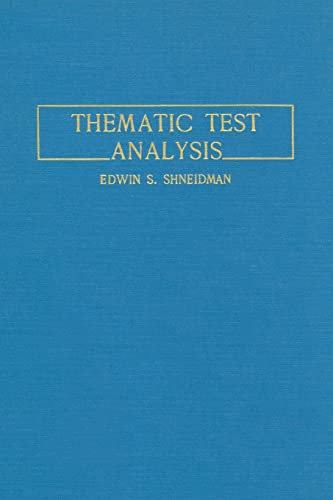 9781138873018: Thematic Test Analysis