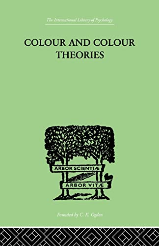 9781138874978: Colour And Colour Theories