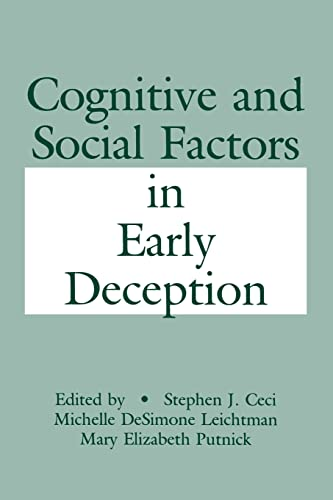 9781138876217: Cognitive and Social Factors in Early Deception