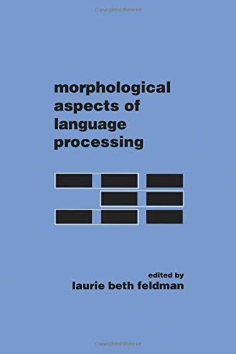 9781138876392: Morphological Aspects of Language Processing