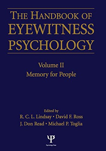 9781138876712: Handbook Of Eyewitness Psychology 2 Volume Set