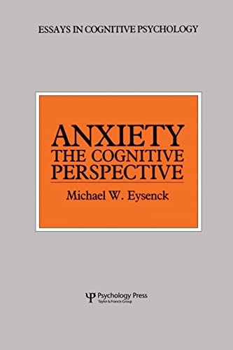 9781138876927: Anxiety: The Cognitive Perspective