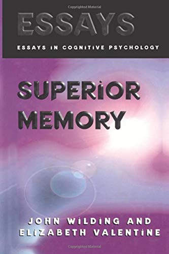 9781138877108: Superior Memory (Essays in Cognitive Psychology)