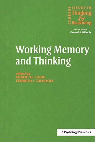 9781138877153: Working Memory and Thinking: Current Issues In Thinking And Reasoning