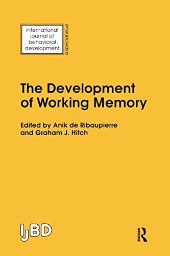 9781138877313: The Development of Working Memory: A Special Issue of the International Journal of Behavioural Development