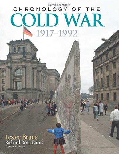 9781138878136: Chronology of the Cold War: 1917–1992