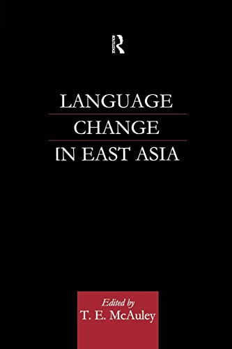 9781138879164: Language Change in East Asia