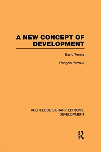 9781138880856: A New Concept of Development