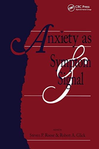 9781138881563: Anxiety as Symptom and Signal