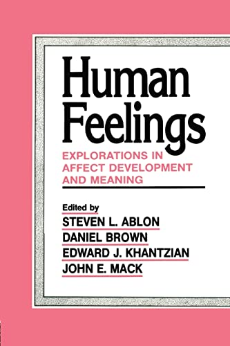 9781138881594: Human Feelings: Explorations in Affect Development and Meaning