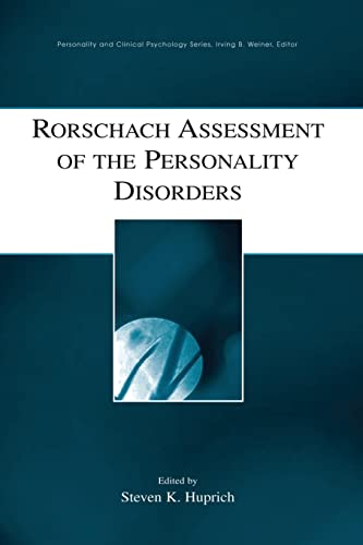 9781138881792: Rorschach Assessment of the Personality Disorders