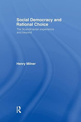 9781138882201: Social Democracy and Rational Choice