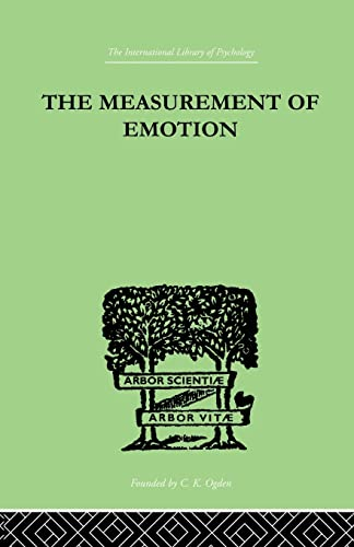 9781138882508: The Measurement of Emotion