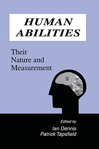 9781138882836: Human Abilities: Their Nature and Measurement
