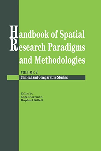 9781138883086: Handbook Of Spatial Research Paradigms And Methodologies