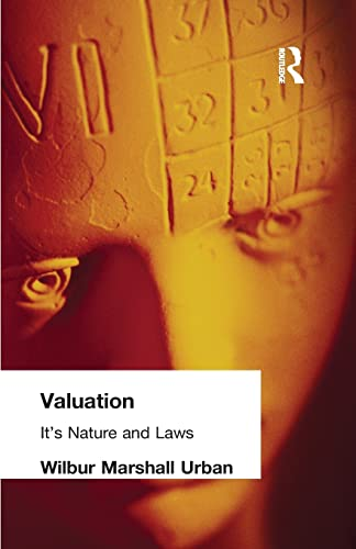 9781138884236: Valuation: Its Nature and Laws
