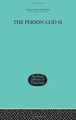 9781138884298: The Person God Is