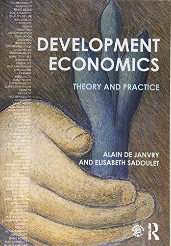 9781138885318: Development Economics: Theory and practice