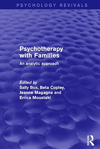 9781138887923: Psychotherapy with Families: An Analytic Approach (Psychology Revivals)