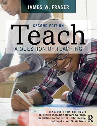 Teach: A Question of Teaching